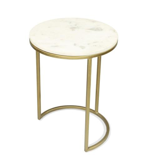 Nesting Side Table Bases - Brushed Brass Finish