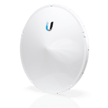 airFiber 11 GHz High-Band Backhaul Radio with Dish Antenna