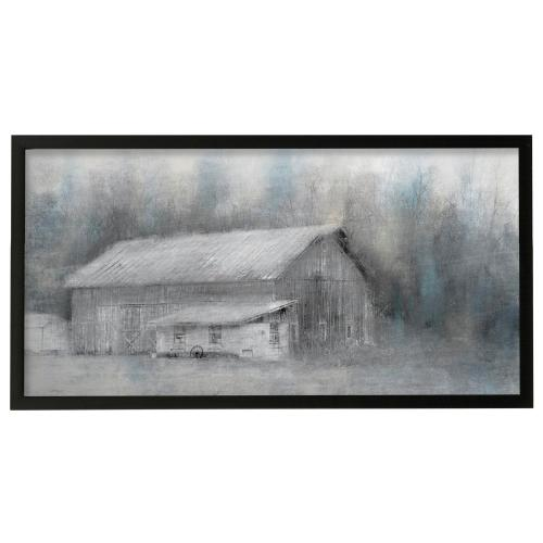 Style Craft - Old Country  Framed Print Under Glass  42in X 22in