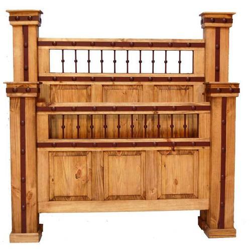 Hierro King Iron Bed (king)