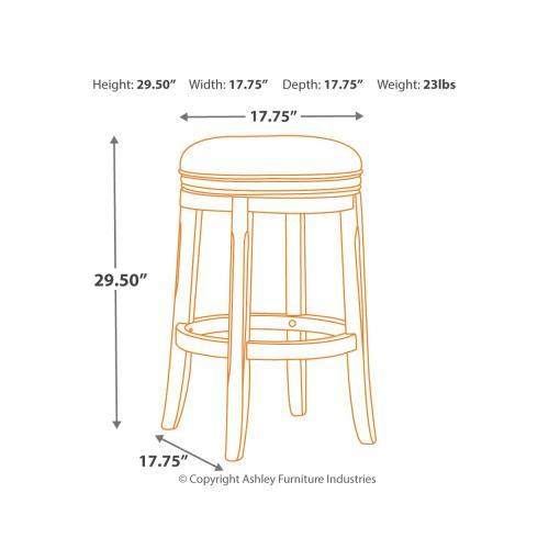 Gallery - Porter Bar Height Bar Stool