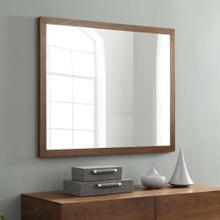 See Details - Caima Mirror in Walnut