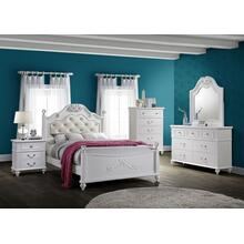 Alana Youth Bedroom - Full Size Bed, Dresser, Mirror, Chest, and Night Stand