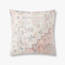 P0910 Pink / Multi Pillow