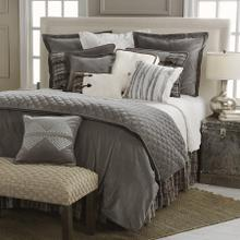 Whistler 4-pc Reversible Bedding Set, Gray U0026 Cream - Queen