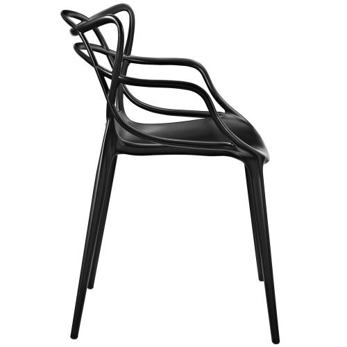Modway - Entangled Dining Armchair in Black
