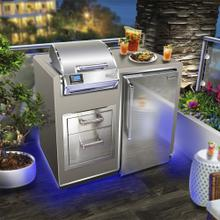 Electric Grill Island Bundle with Refrigerator