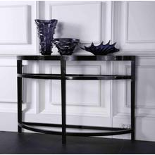 A&X Half Moon Console Table