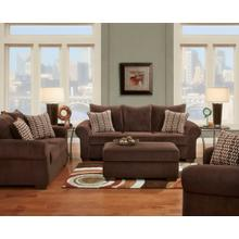 Chevron Mink Sofa and Loveseat Set
