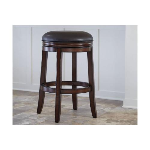 Porter Tall UPH Swivel Stool Rustic Brown