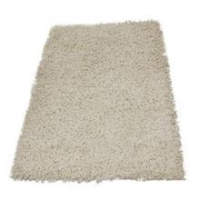 White Zilmil Shaggy Carpet