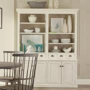 China Cabinet - Chalk Finish Product Image