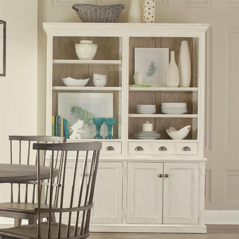 China Cabinet - Chalk Finish