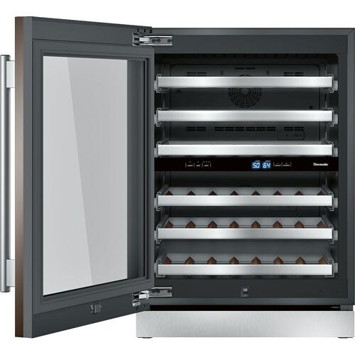 Freedom® Wine cooler with glass door 24'' Professional T24UW900LP