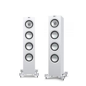 Satin White Q550 Floorstanding Speaker