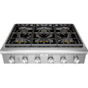 Gas Rangetop 36'' Stainless Steel PCG366W
