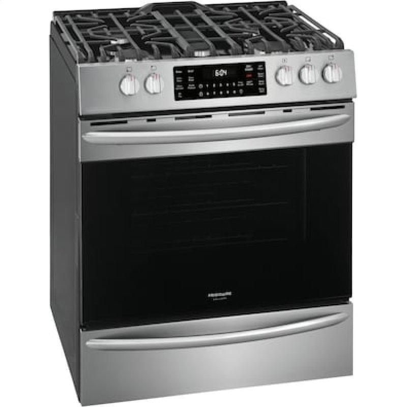 Frigidaire Gallery 30in. Front Control Gas Range with Air Fry