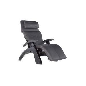 Perfect Chair ® PC-LiVE™ PC-600 Omni-Motion Silhouette - Gray Premium Leather - Matte Black