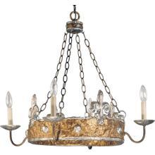 See Details - Crown Chandelier
