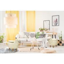 "Critter Sitters Plush White Llama Storage Animal Ottoman Furniture for Nursery, Bedroom, Playroom & Living Room Decor, 15"" Seat Height, CSLLASTOTT-WHT"