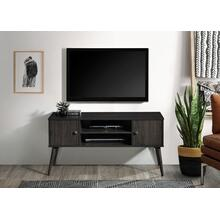 "See Details - 2025 DARK ESPRESSO Faux Wood TV Stand - 47"" L"