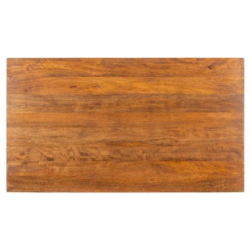 Safavieh - Allester 1 Rattan Drawer Coffee Table - Brown / Black