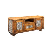 Mossy Oak Carver Point TV Stand White Bark Cherry Top
