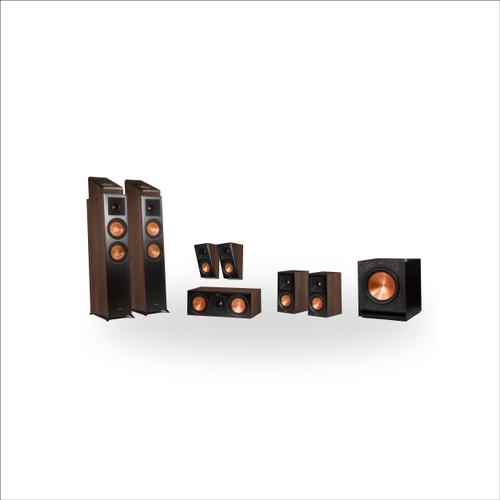 Klipsch - RP-6000F 7.1.2 Dolby Atmos® Home Theater System - Walnut