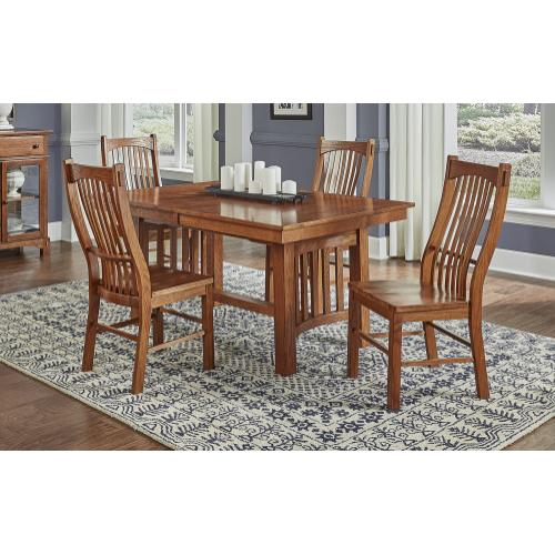 7 PIECE DINING SET (EXTENSION TABLE AND 6 SIDE CHAIRS)