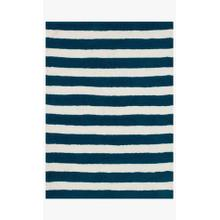 View Product - LL-01 Navy / White Rug