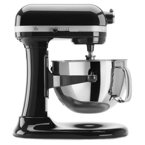 Pro 600™ Series 6 Quart Bowl-Lift Stand Mixer - Onyx Black
