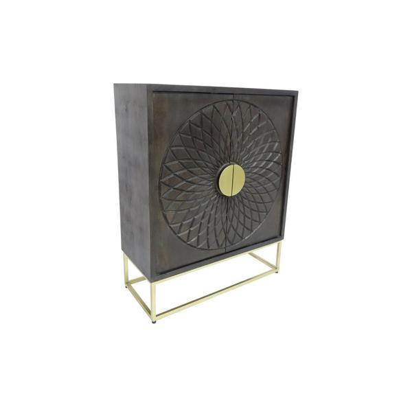See Details - Parabola 2 Door Cabinet, 2551L