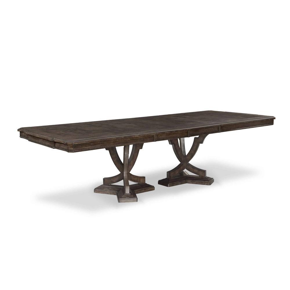 See Details - Landmark Double Pedestal Dining Table