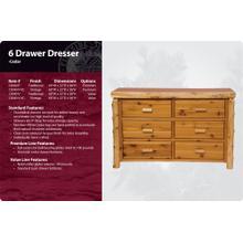 See Details - 6 Drawer Dresser-Traditional