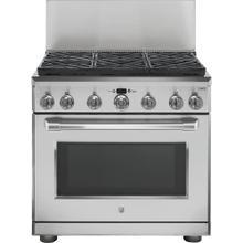 "See Details - 36"" Professional 12"" Backsplash Stainless Steel - UX12B36PSS"