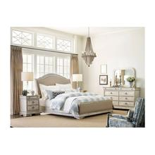 See Details - Kelly Uph Sleigh Queen Bed - Complete