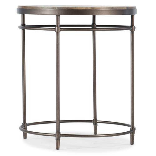 St. Armand Round End Table