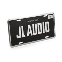 JL Audio License Plate