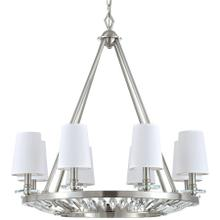 Cascade Collection Eight-Light Chandelier