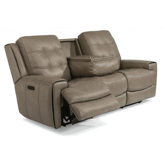 Wicklow Power Reclining Sofa with Power Headrests
