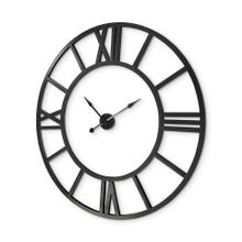 """See Details - Stoke 54"""" Round Giant Oversized Industrial Wall Clock"""