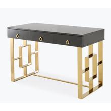 See Details - Audrey Grey Lacquer Desk