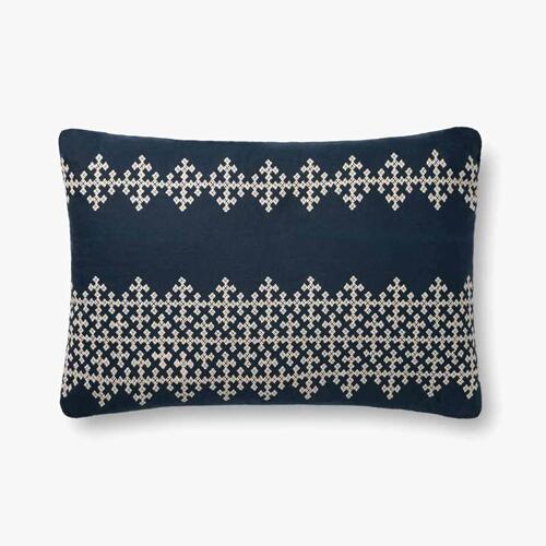 P0833 Navy / Ivory Pillow