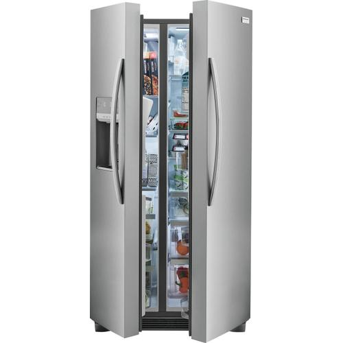 Frigidaire Gallery 22.3 Cu. Ft. 33'' Standard Depth Side by Side Refrigerator