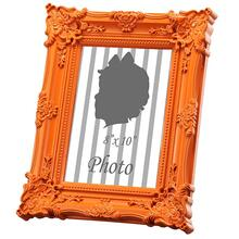 Photo Frame,Orange 8x10""