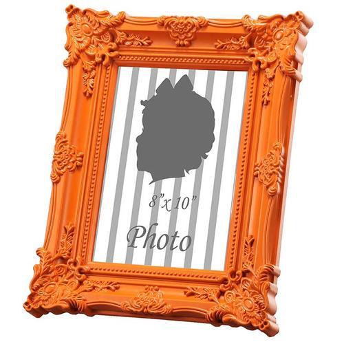 "A & B Home - Photo Frame,Orange 8x10"""
