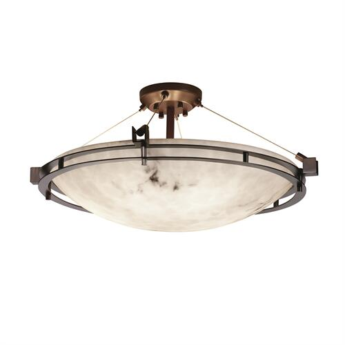"Metropolis 24"" Round Semi-Flush Bowl"