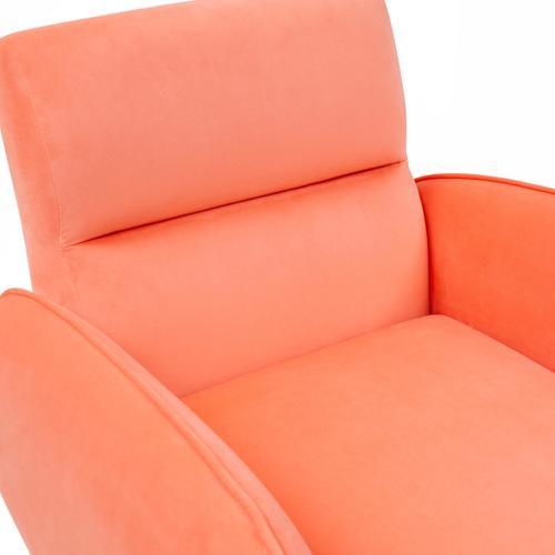 Babe Coral Velvet Chair