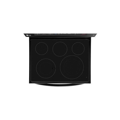 LG - 6.3 cu. ft. Electric Single Oven Range with True Convection and EasyClean®