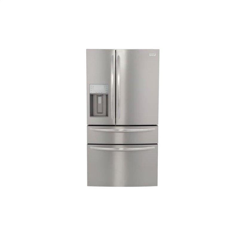 Gallery 21.8 Cu. Ft. Counter-Depth 4-Door French Door Refrigerator
